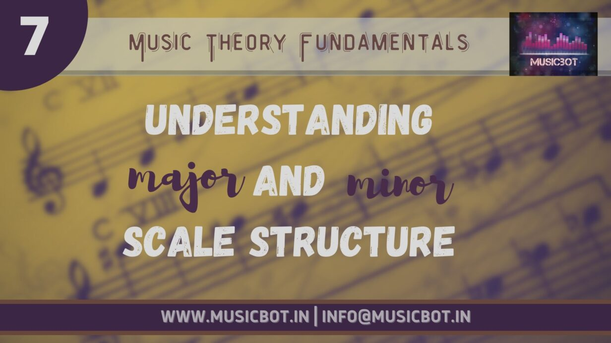 Major And Minor Scale Structure
